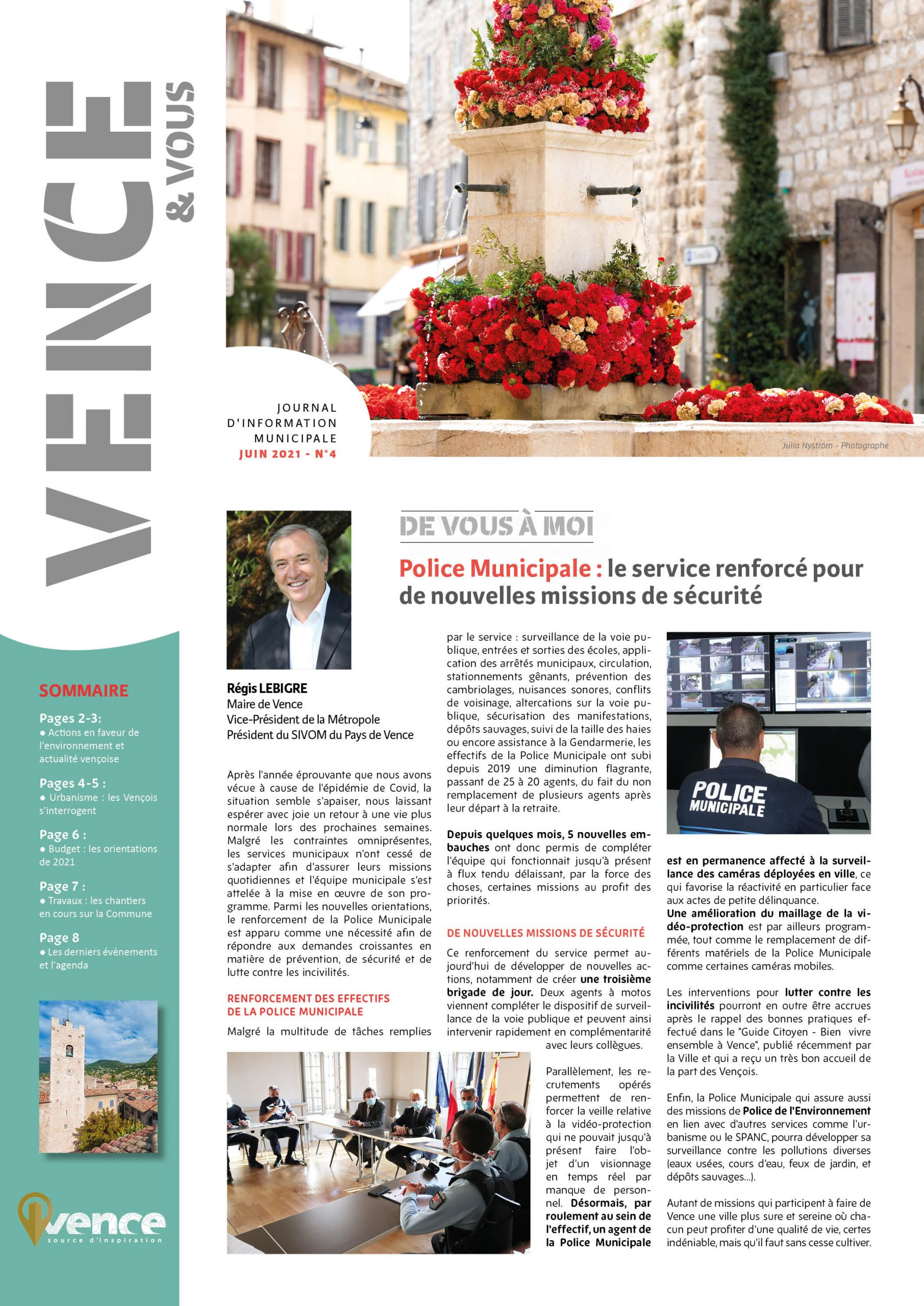 Journal «Vence & Vous» n°4
