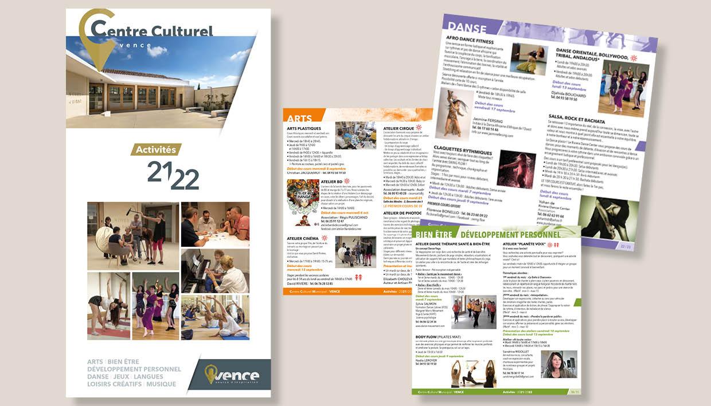 Centre Culturel Municipal, saison 2021-2022