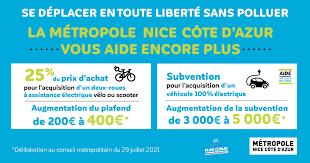 Aides accrues pour l'achat d'un vélo ou d'une voiture électrique