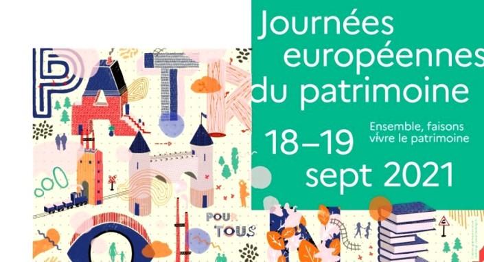 Ne manquez pas les Journées européennes du patrimoine