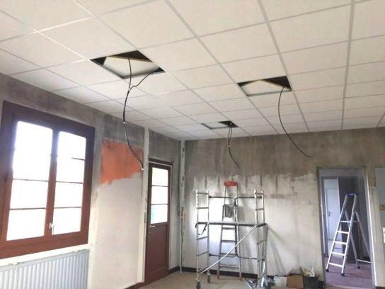 Classe maternelle Leï Bigarradié en cours de rénovation