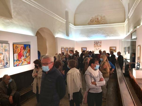 L'Artocercle expose ses artistes aux Pénitents Blancs