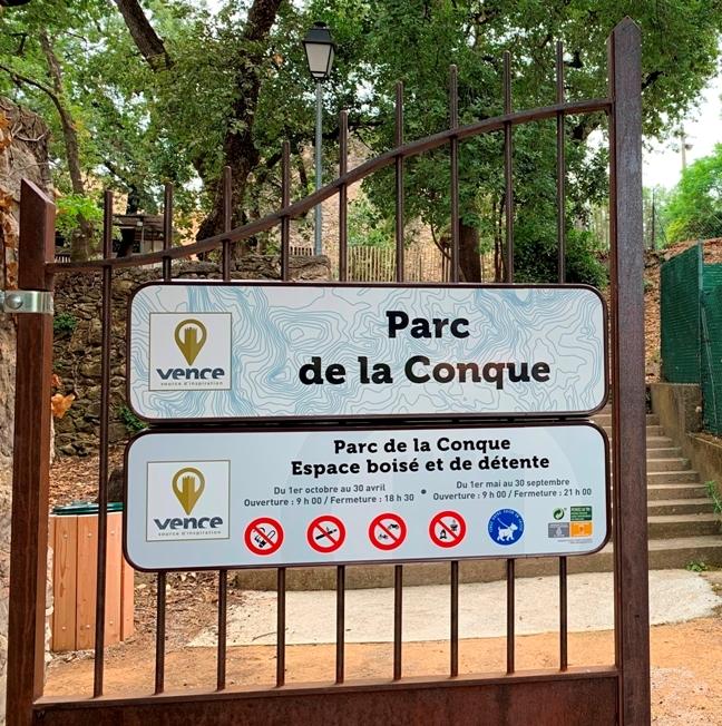 Stationnement ponctuellement interdit autour du Parc de la Conque