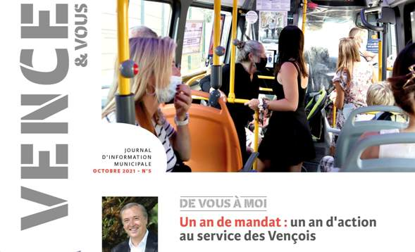 Journal «Vence & Vous» n°5